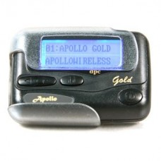 Gold Pager - Black